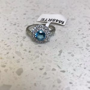 Charmed Aroma Blue Ring Sz 7